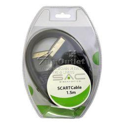 Вискокачествен SCART-SCART кабел, 1.5м