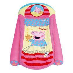 """Детско надуваемо легло """"Peppa Pig My First Ready Bed"""": Всичко в едно!"""