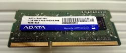 RAM 1GB DDR3 1333 PC3-10600 SO DIMM ADATA Оперативна памет за лаптоп