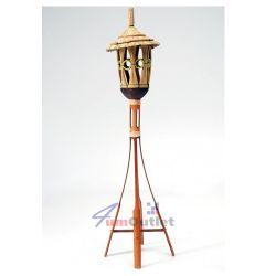 Китайска бамбукова поставка за лампа