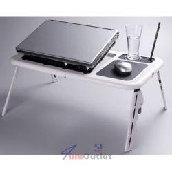 LAPTOP TABLE Сгъваема маса за лаптоп с 2 бр. вентилатори