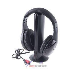 HiFi Безжични мултифункционални 5-в-1 слушалки