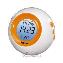 3-in-1 Night Light + Termometer + Clock Нощна лампа с термометър и часовник