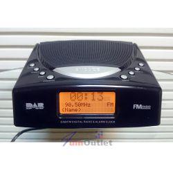 TECHNIKA DAB/FM Clock Radio Дигитален (цифров) радио-часовник