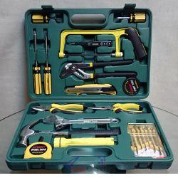 Инструменти, комплект в куфарче, 21 части, фенерче