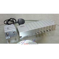 LABGEAR MSA263LP Distribution Amplifier w/Remote Power Разпределителна кутия със захранване и усилвател за телевизия