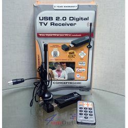 CONCEPTRONIC USB Digital TV Receiver DVB-T цифров TB тунер и рекордер