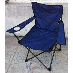 Сгъваем стол за къмпинг, пикник и риболов в торбичка