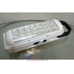 Аварийна акумулаторна светодиодна (21 LED диода) лампа