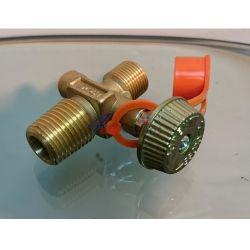 Спирателен кран (вентил) за газова бутилка, български стандарт