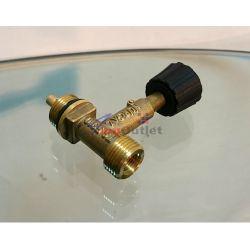 Спирателен кран (вентил) за газова бутилка, чешки стандарт