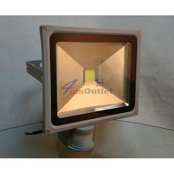 PIR LED SMD 30W Прожектор със сензори за движение и осветеност