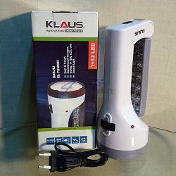 KLAUS 1+12LED Акумулаторен фенер и аварийна лампа