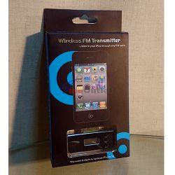 FM Transmitter for iPhone/iPod УКВ трансмитер за Айфон и Айпод