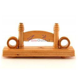 Стойка за ветрило, декоративна, дървена