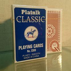 Platnik Classic 1300 Тесте от 52 карти за игра, качествени