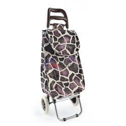 Чанта на колела за пазаруване (пазарска чанта), промазка
