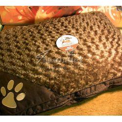 40 Winks Swirl Faux Fur Dog Sleeper: Луксозна възглавница за куче