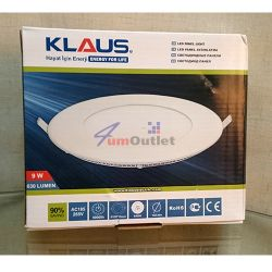 KLAUS LED 9W Panel Панел, светодиоден, за вграждане
