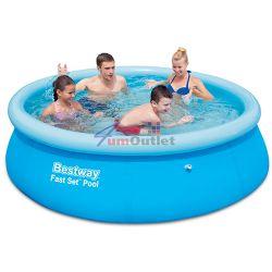 BESTWAY 1.98м Fast Set Pool Градински надуваем басейн
