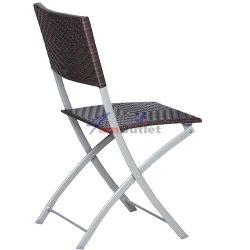 Стол сгъваем, градински, ратан и тръбна конструкция