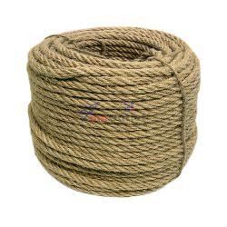 Въже, конопено, ф8 мм, 50 м
